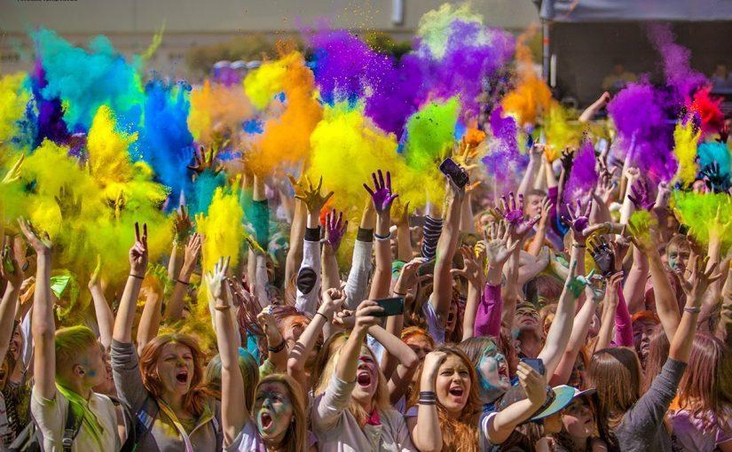 Фестиваль красок в Туле