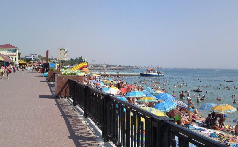 Курортный город Феодосия